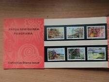 Papua New Guinea 1973 13 June Panorama Definitives 1c - 40c Presentation Pack