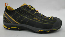 Asolo Mens Nucleon GV Hiking Shoes A40012 Graphite / Yellow Size 14
