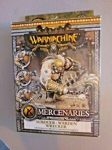 Warmachine - Mercenaries: Subduer Warden Wrecker Cephalyx Heavy Monstrosity NIB