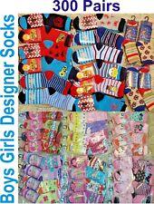 Wholesale Designer Socks Girls Boys Kids Children Job Lot Car Boot Trade Pallet