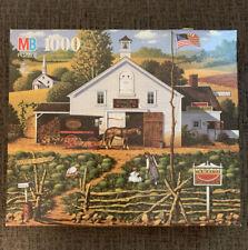 Charles Wysocki Americana - Milton Bradley Jigsaw Puzzle - 1000 Pieces