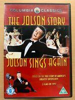 Jolson Story + Jolson Sings Again DVD Musical Movie Classic Double Bill Al