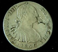 More details for super spanish  8 reale 1806 charles iiii fro cabalva shipwreck mauritius