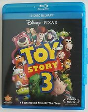 Disney Pixar Toy Story 3 Blu Ray Animated Film Movie 2 Disc Tom Hanks Tim Allen
