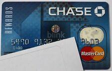 Expired 2008 Chase Bank Rewards Blink Master Card Credit Card
