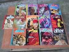 Alter Alter annata 1982 completa 12 numeri gennaio-dicembre