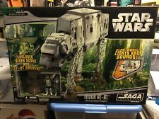 """Star Wars Endor AT-AT Vehicle with Two 3.75"""" Figures - 2006 The Saga Collection"""