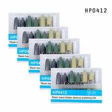 AU 5XDental low-speed Resin base hidden denture polishing kits HP0412