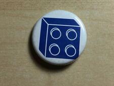 Lego Blue Square Brick Pin