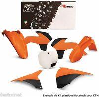 Kit plastiques Racetech couleur origine KTM EXC-F 250 350 Année 2014