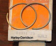 HARLEY AERMACCHI 22351-73 RING SET X 90 X90 Z90 Z 90 .2MM OS GENUINE