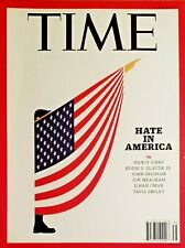 TIME MAGAZINE HATE IN AMERICA NANCY GIBBS AUGUST 2017 NEW FREE SHIPPING