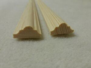 Profilleiste Kiefer 10x20mm Holzleisten Zierleiste Stk 100cm