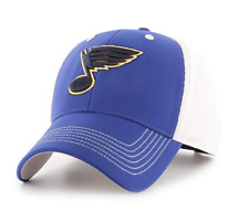 watch afd34 f27c9 St. Louis Blues 2019 Stanley Cup Champions Hat Cap Blue White Adjustable  One Sz
