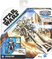 Star Wars Mission Fleet The Mandalorian & The Child SPEEDER BIKE Baby Yoda Grogu