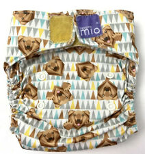 Bambino Mio Miosolo All-in-one Reusable Nappy Bear Print Pre Loved