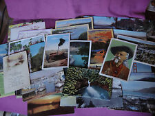 Lot 61 Vintage Postcards 1940s Oregon California Wyoming Union Oil Co New Years