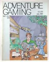 Adventure Gaming Magazine, Issue 1 Kathleen Pettigrew Magazines Manzakk Publishi
