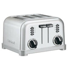 Cuisinart Cpt-180 4-Slice Metal Classic Toaster - Brushed Stainless Steel