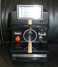 Polaroid PRESTO! Instant camera + POLATRONIC 1 (Working camera + Worikng flash)