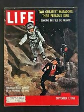 Life Magazine September 7 1959 Spaceman Meets Gambler