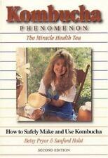 Kombucha Phenomenon : The Miracle Health Tea: How to Safely Make and-ExLibrary