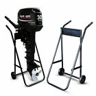 Outboard Motor Engine Trolley Stand Boat Carrier Transport Wheel 70kg US STOCK