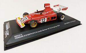 IXO 1/43 Ferrari 312 B3/74 #12 German Gp Nürburgring 1974 MDC013 N. Lauda