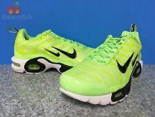 Nike Air Max Plus PRM Premium Mens Size 8 Lime Blast Black White Volt 815994-300