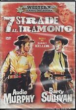 Dvd «7 STRADE AL TRAMONTO» con Audie Murphy Barry Sullivan Nuovo Sigillato 1960