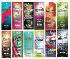 PRO TAN Sunbed Tanning Cream Lotion Salon RE-SALE PACKAGE DEAL 120 Sachets