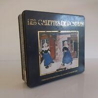 Caja Galletería Traou Mad las Pastas de Pont-Aven Vintage Art Nouveau Francia
