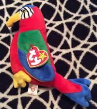 NWT Ty Beanie Baby Jabber The Parrot Bird VINTAGE 1997