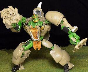 Transformers Generations Rhinox Complet Voyager 30th Anniversaire Bête Wars