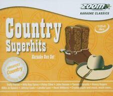 Zoom Karaoke CD+G, Country Superhits - Triple Karaoke Pack (ZSH003)