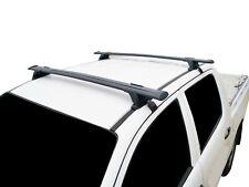 Alloy Roof Rack Cross Bar for Toyota Hilux 06-15 Dual Cab Black 135cm Lockable