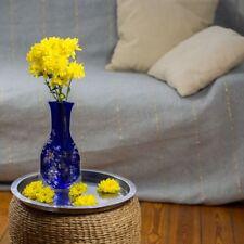 10  x Blumenvase blau faltbar Folie Kunststoff  Faltvase Tischvase