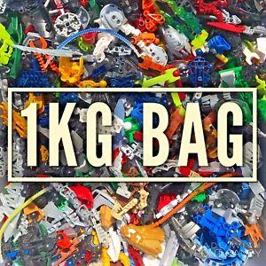 LEGO Bionicle / Hero Factory Bundle 1kg Mixed Armour Weapons Masks Parts Job Lot
