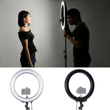 "Neewer 14"" 600W 5500K Ring Fluorescent Flash Light w/ 59"" light stand f Portrait"