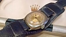 BEAUTIFUL RARE 1933 GENTS ROLEX VICTOIRES MILITARY OFFICERS WATCH & VINTAGE BOX