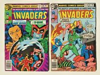 The Invaders Comic books #38 & #39 MAR/APR 1979 Marvel Bronze Age Issues