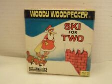 """Woody Woodpecker: Ski For Two"",Super 8 MM Film,US,Castle Films,B&W, with Box,M-"