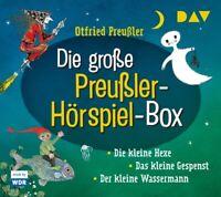 OTFRIED PREUßLER - DIE GROßE PREUßLER-HÖRSPIEL-BOX DIE KLEINE HEXE;  6 CD NEU