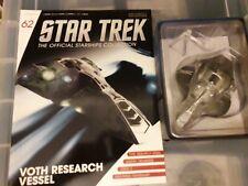 Star Trek Eaglemoss Issue 62 Voth Research Ship with Magazine
