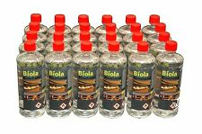 BIO ETHANOL FUEL 48  X 1litre Bottles Premium 97% Pure delivery UK & Ireland