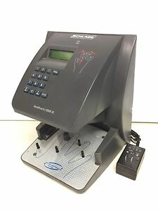 SCHLAGE HANDPUNCH 1000E-XL TIME CLOCK~ONTARIO, CALIF.