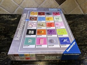 2017 RAVENSBURGER 1000 Piece PANTONE COLOR Jigsaw PUZZLE COMPLETE Cool!