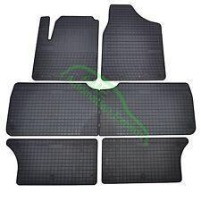 Gummimatten Fußmatten für VW Sharan I Typ 7M (+3-Reihe) ab Bj:1995-2010 7-Sitzer
