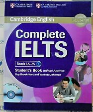 COMPLETE IELTS BANDS 6.5-7.5 STUDENT'S BOOK without ANSWERS con CDROM -CAMBRIDGE
