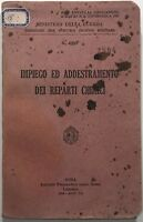 Impiego ed addestramento dei reparti chimici libro Poligrafico 1942